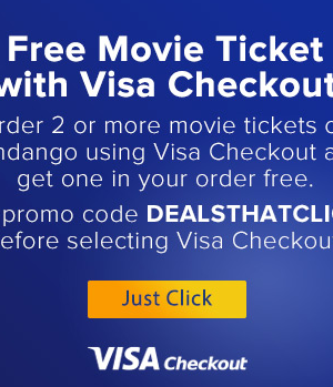 Fandango coupons visa