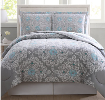 Fresh Cassandra Reversible Pc Comforter Mini Set Twin King reg
