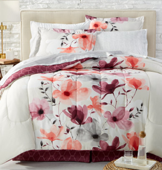 Trend Annette Reversible pc Queen Bedding Ensemble Twin u Cal King reg