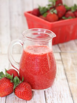 Fresh Strawberry Sauce