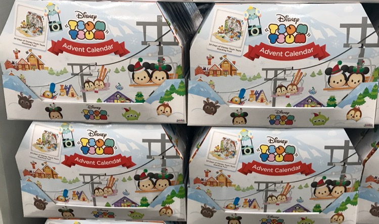 Perfect Costco has these cute Tsum Tsum Advent calendars priced at I think these will probably go fairly quick you probably won ut find them in November