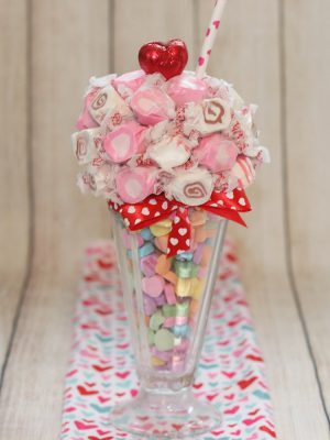 Valentine Soda Fountain Candy Treats