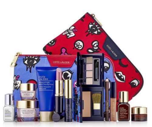 FREE Estée Lauder 7-piece Gift Bag ($165 value) with anyEstee Lauder purchase of $37.50