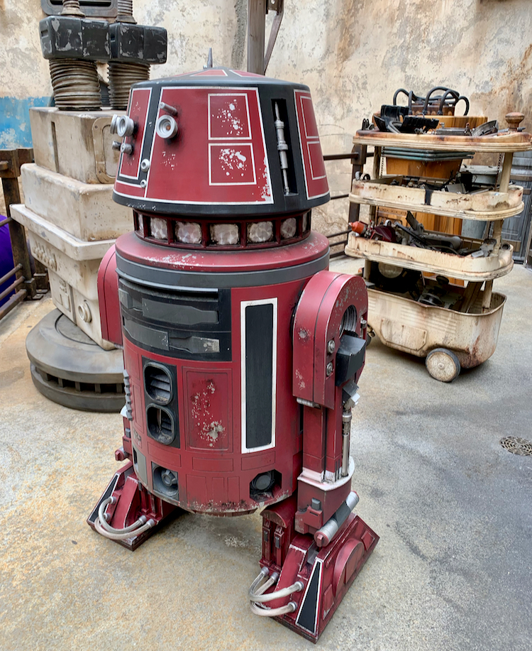 a droid from star wars